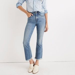 Madewell Cali Demi Boot Jeans : eco edition - 30